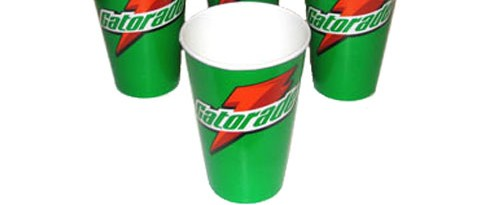 gatorade cups