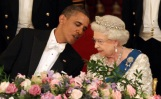 What did Obama say to the Queen?