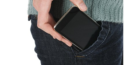 Cell-phone-in-pocket