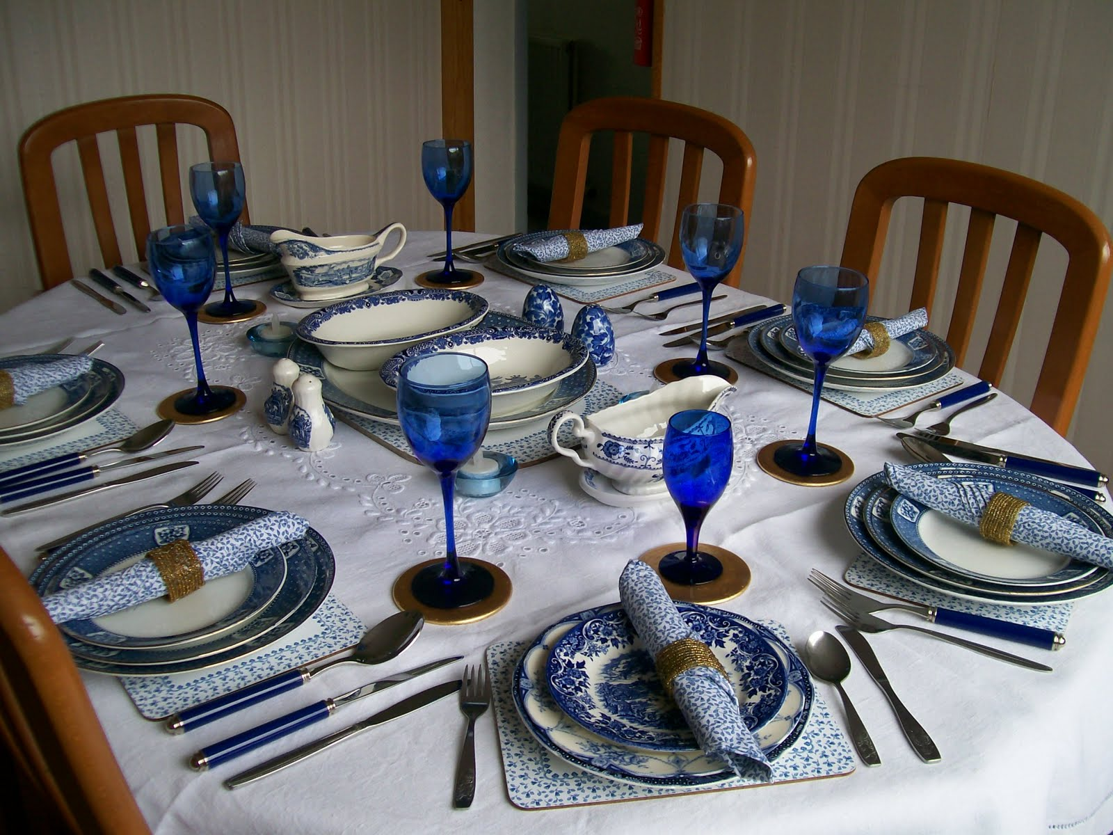 Thank you for inviting us to dinner please be aware of Dinner table setting pictures