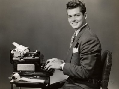 Property Getty Images: http://www.gettyimages.com/detail/photo/male-secretary-at-typewriter-high-res-stock-photography/53271947